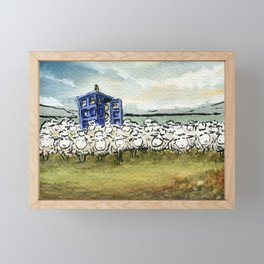 1001001 Framed Mini Art Print