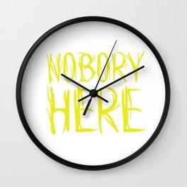 Nobory Here Wall Clock