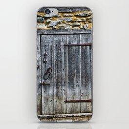 Door at the Mill iPhone Skin