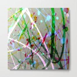 Abstract No. 4 Metal Print