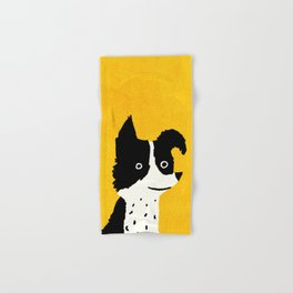 Brodie: The Border Collie Hand & Bath Towel
