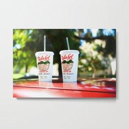 Falafel Drive-In Metal Print