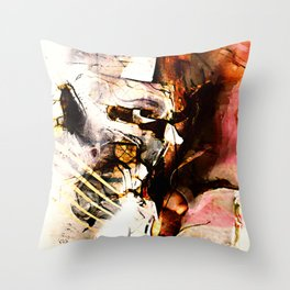 Angels and Devils Throw Pillow