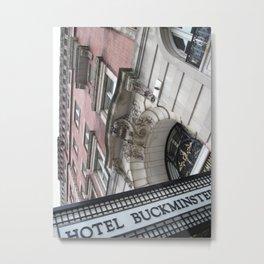 Buckminster Metal Print
