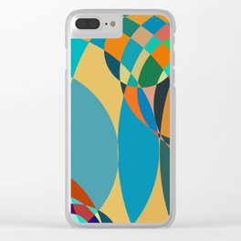 circle parts Clear iPhone Case