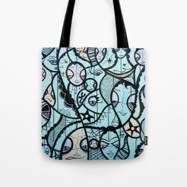 Twisted Tale Tote Bag