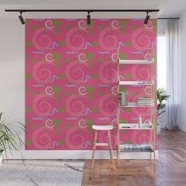 Fiesta - Hot Pink Wall Mural