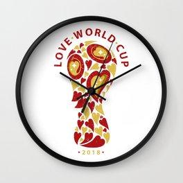 FIFA_LOVE CUP Wall Clock
