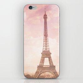Paris in Pink iPhone Skin