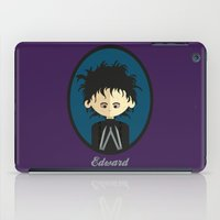 edward scissorhands iPad Cases featuring Edward Scissorhands by Juliana Motzko