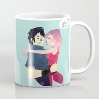 sasuke Mugs featuring Aren't they lovely. by Serena Rocca