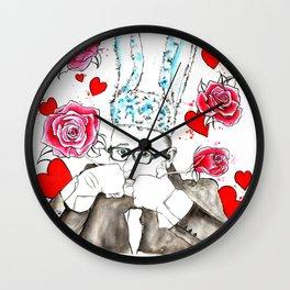 L'amour Elbaz Wall Clock