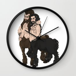 centaurs Wall Clock