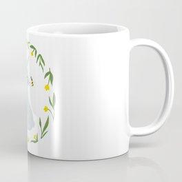 Curious Hare Coffee Mug