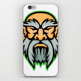 Cronus Greek God Mascot iPhone Skin