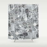 marina Shower Curtains featuring Marina by Anchobee