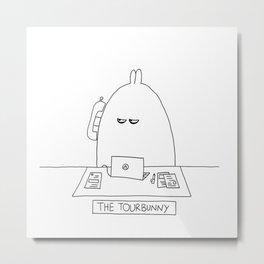 The TourBunny - Phone Metal Print