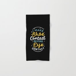 Sneaker collecting Footwear Shoes Eye Contact Hand & Bath Towel