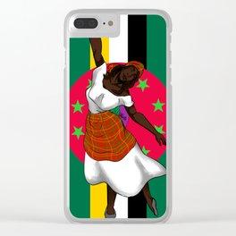 Isle of Beauty, Isle of Splendour Clear iPhone Case
