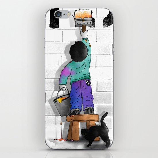 No Future iPhone & iPod Skin