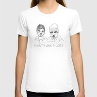 tyler spangler T-shirts featuring Josh/Tyler by ☿ cactei ☿