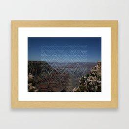 Grand view Framed Art Print