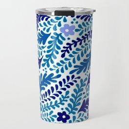 Sleepy floral Travel Mug