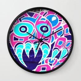 Angry Octupus - Graffiti - Street Art Wall Clock