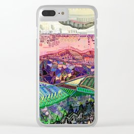 Big Mountians Clear iPhone Case