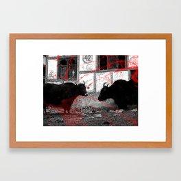 pamplona  Framed Art Print