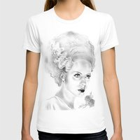 bride T-shirts featuring Bride by Leyla Buk