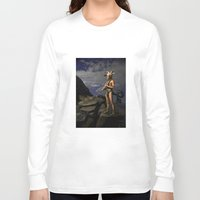 capricorn Long Sleeve T-shirts featuring Capricorn by Viggart
