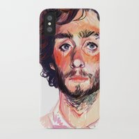 tom selleck iPhone & iPod Cases featuring Tom by Maddy