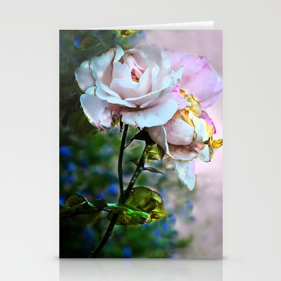 Old Roses Stationery Cards