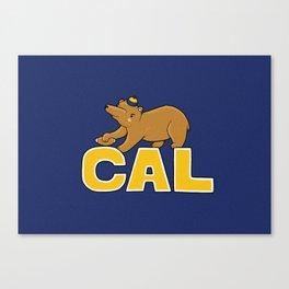 CAL Canvas Print