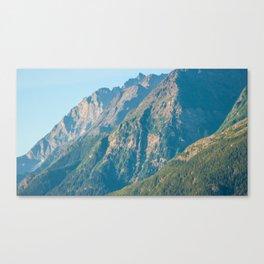 Mountain Slopes Canvas Print