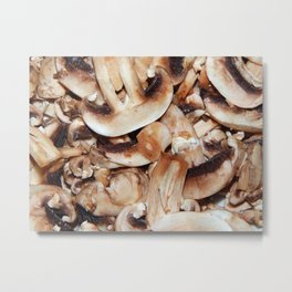 Still life of food and natural textures Metal Print