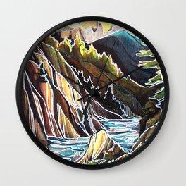 Creek Canyons, British Columbia Wall Clock