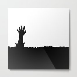 Escape From A Tunnel Metal Print
