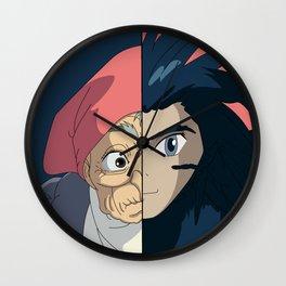 Old sophie x bird howl  Wall Clock