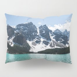 Landscape Lake Moraine Mountains Pillow Sham