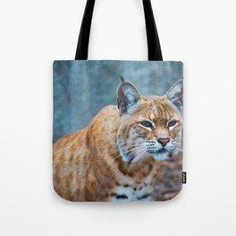 Still Bobcat Tote Bag