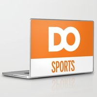 sports Laptop & iPad Skins featuring DO Sports by The Daily Orange