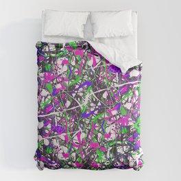 Neon Jungle Comforters