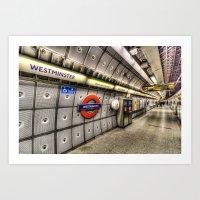 velvet underground Art Prints featuring Underground by David Pyatt