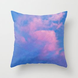 The Sky is Our Starting Point Throw Pillow