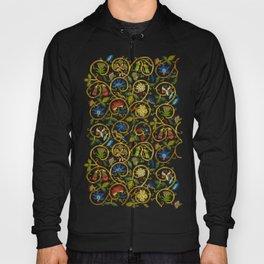 Embroidered Elizabethan / Jacobean Jacket Hoody