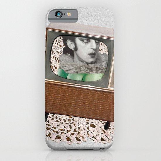 A antirosa atômica iPhone & iPod Case