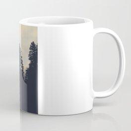 Sunset Fog Atop Mount Olympus Coffee Mug