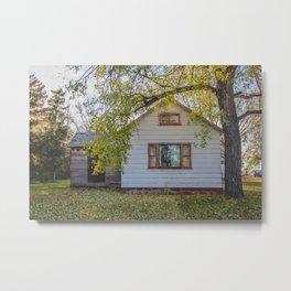 Abandoned House, Chaseley, North Dakota 2 Metal Print
